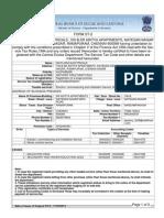 Advance Tax Notice