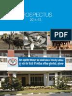 GADVASU Final Prospectus 2014-15