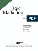 Strategic Mkting Ninth Edition David W Cravens and Nigel F Piercy