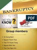 Bankruptcy Slide