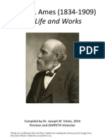 Daniel T. Ames 81834-1909) His life and works