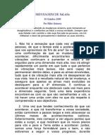 2009-10-30 Mensagem de SaLuSa - por Mike Quinsey - [português e inglês]