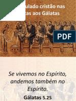 Discipulado Cristao- Carta de Galatas