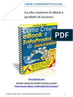 (eBook E-Book) Come Creare eBook e InfoProdotti Di Successo!