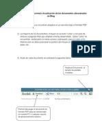 Explicación para la correcta visualización de los documentos almacenados en Blog