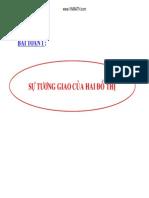 CD_Su Tuong Giao Cua Hai Do Thi_LTDH_2014
