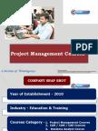 PMP, Primavera Training @ First CADD, Jayanagar, Bangalore