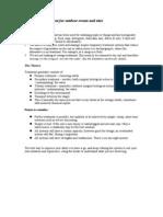 Greywater Treatment Recipe