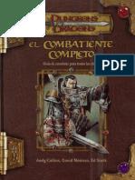 El Combatiente Completo D&D 3.5