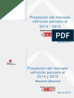 Mercado Vehicular Peruano 2014 - 2015