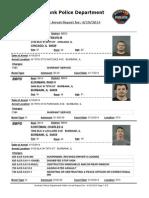 public arrest report for- 4192014