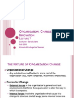 6-Organisation, Change and Innovation