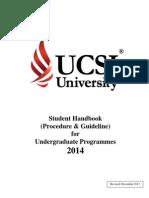Student Handbook Undergraduate