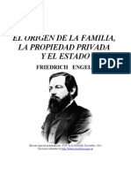 Engels - Origen de La Familia