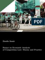 Danilo Samà - Essays on Economic Analysis of Competition Law
