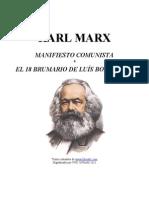 KarlMarx-El Manifiesto Comunista