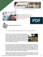 Boletin Legal Diario 040913