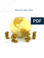 Indian Currency Rupee #RBI Reference Rate for 2014