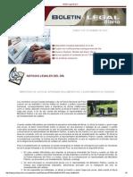 Boletin Legal Diario 090913