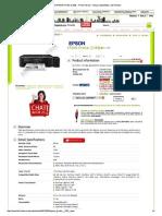EPSON Printer [L300...Spesifikasi, Dan Review