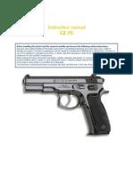 CZ 75 Manual