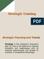 Week 3 - Strategic Training