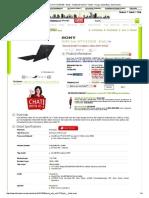 Jual SONY Vaio SVT11215SGB - Black - Notebook Hybrid _ Tablet - Harga, Spesifikasi, Dan Review