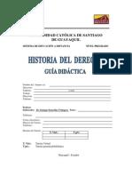 Historia Del Derecho I