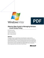 Step-By-Step Guide to Managing Multiple Local Group Policy
