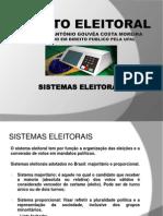 Aula 5. Sistemas Eleitorais