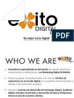 Exito Digital Formacion, su socio en Consultoría Digital en España y Latinoamérica.