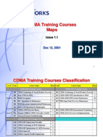 CDMA Training Courses MAP