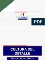 Cultura Del Detalle