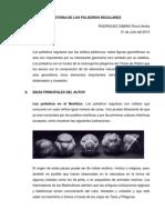 Historia de Los Poliedros Regulares