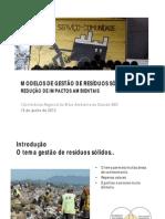Consorcio Realiza Conferencia Ambiental Santo Andre