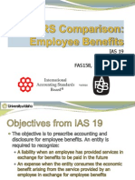 IFRS - IAS19 - Employee Benefits