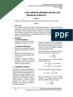a1 Informe Relacion Calores Especificos