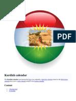 Kurdish Calender