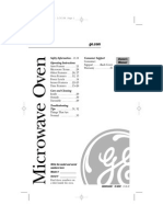 GE Microwave Oven Manual