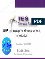 2_DS_WISE Conference_UWB Technology for Wireless Sensors in Avionics