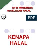Prosedur Pensijilan Halal & Isu-Isu Semasa