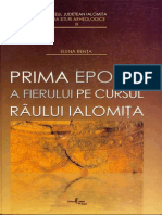 Prima epocă a fierului pe cursul râului Ialomiţa, Elena Rența