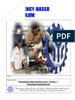 CBC-TM I Trainers Methodology Level 1