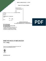 C. G.Jung - Psicologia e Religião- Livro Ebook - PtBr