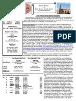 St. Michael's April 20, 2014 Bulletin