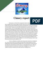 Cimory Report