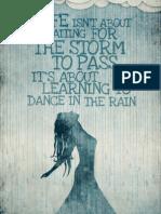 Dansand in Ploaie