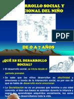 01 Desarrollo social del niño de 3 A 4 años Editado
