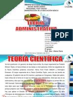 diapositivas teoria administrativa