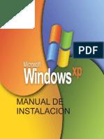 Manual de Instalacion de Windows Xp